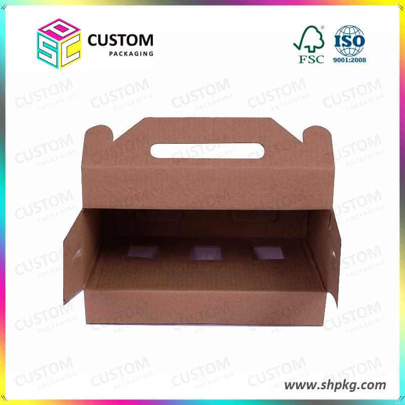 3 pack beer holder box