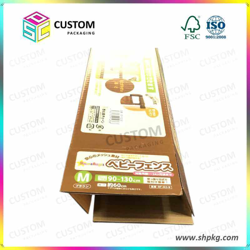 Offset printed paper box corrugated box for japanese children bed