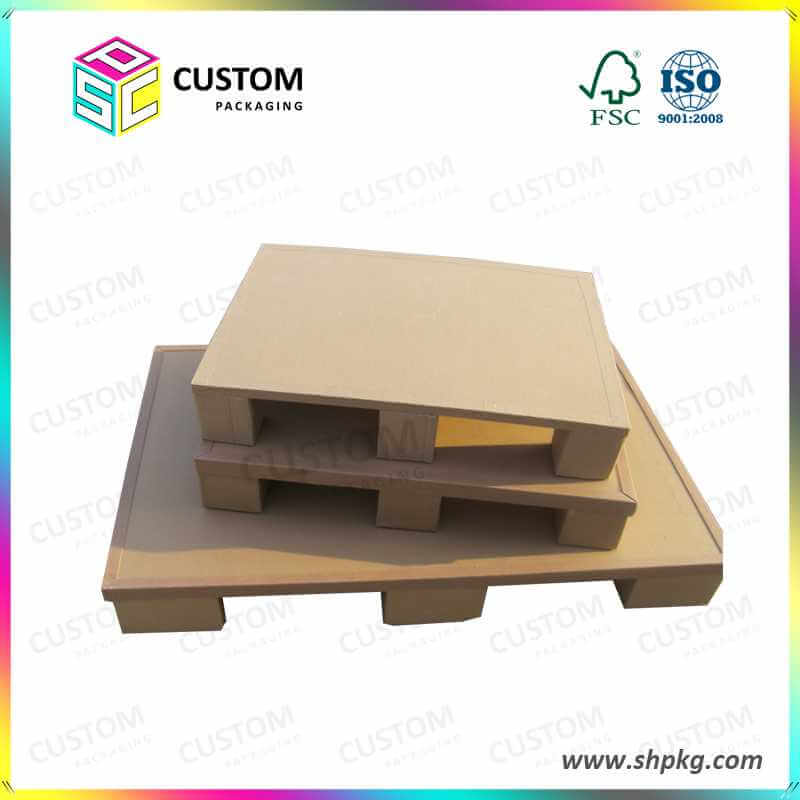 BEECORE Recycled Honeycomb Paper Pallets for Loading Products