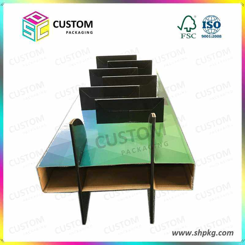 6 Layers Paper Counter Display Box