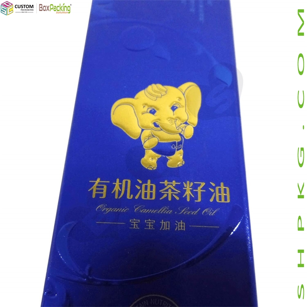 Auto Bottom Cardboard Packaging For Edible Oil