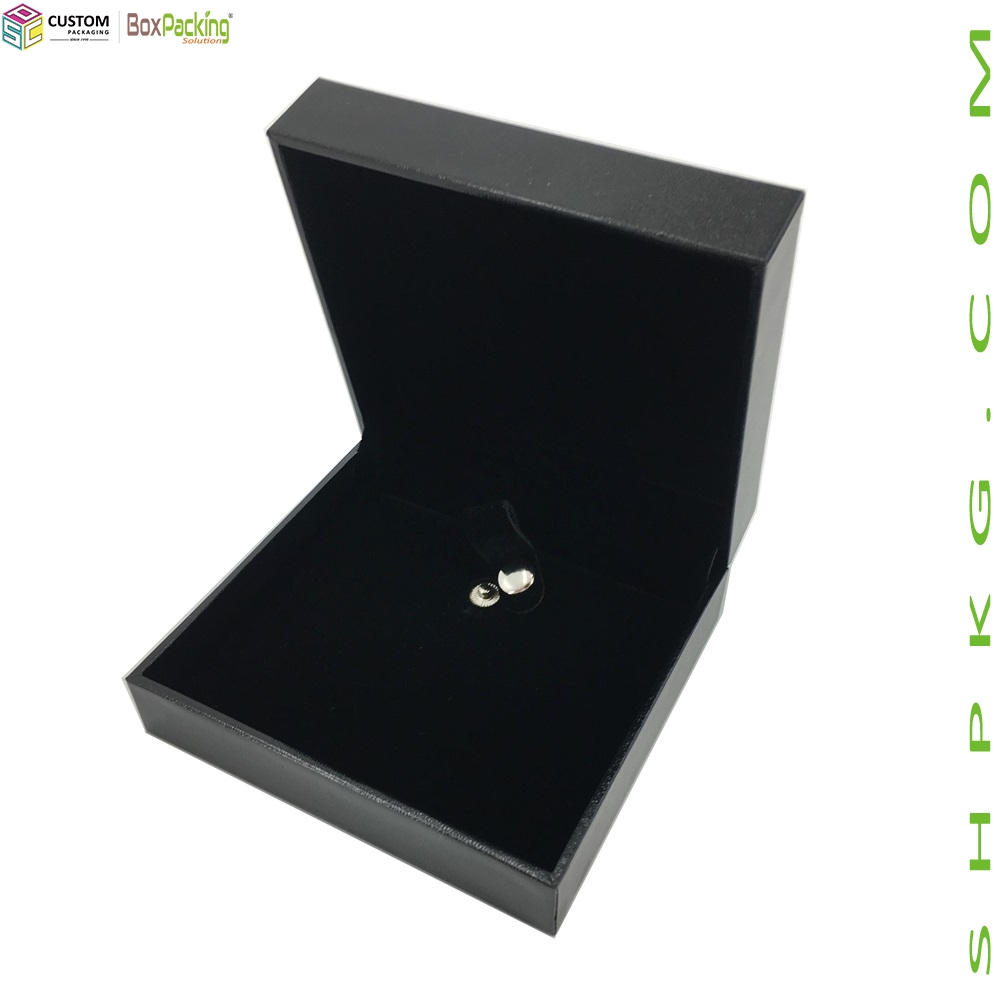 BLACK LOGO JEWELERY RIGID BOX