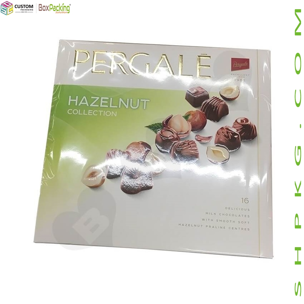 Cardboard Packaging Box For Hazelnut