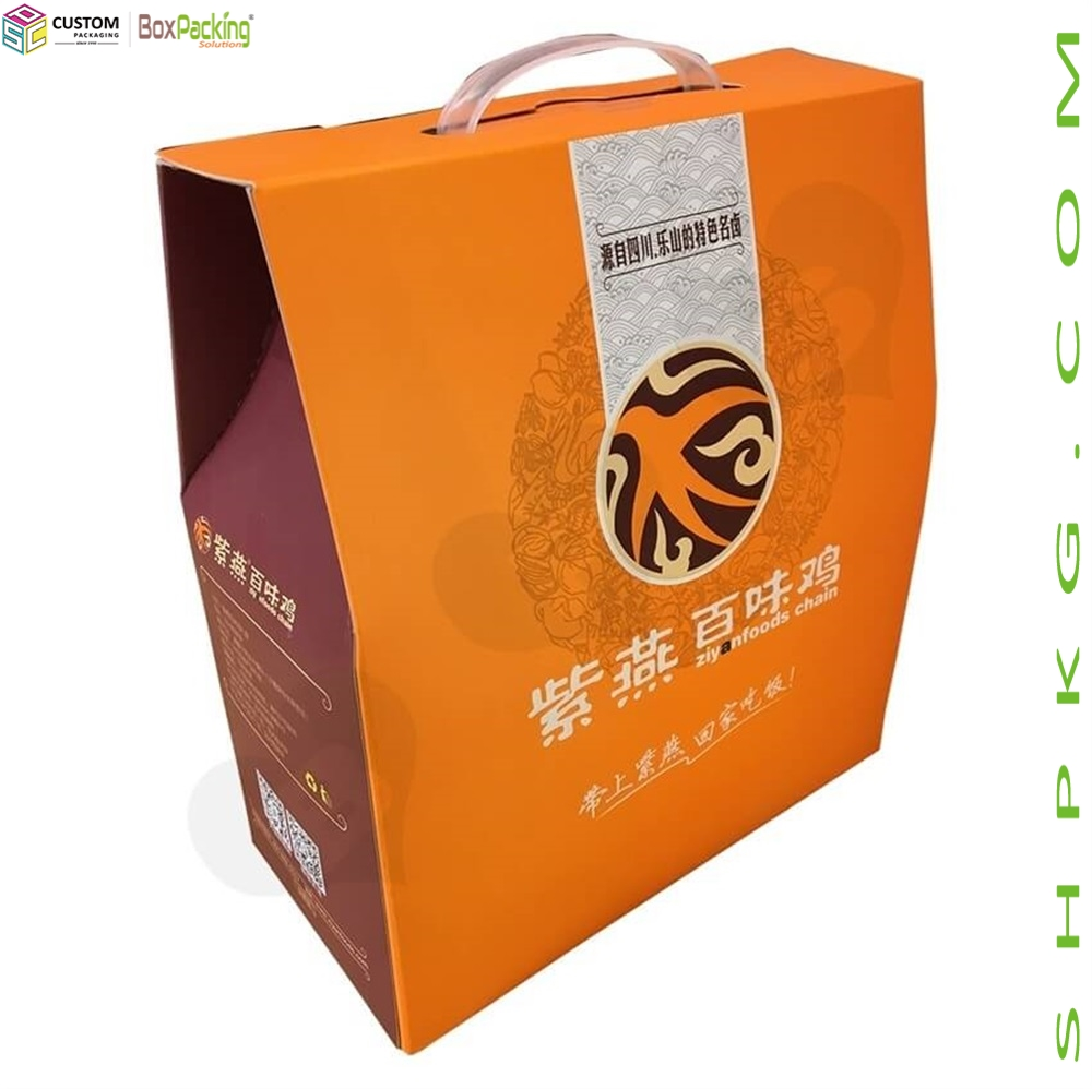Chicken Food Retail Packaging Box