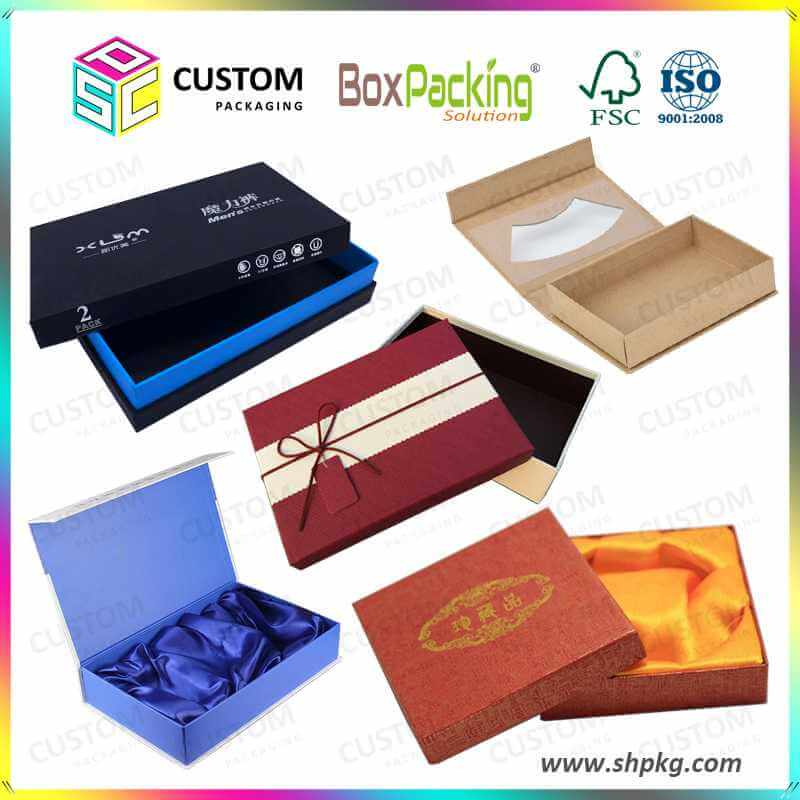 China professional custom rigid box manufacturers