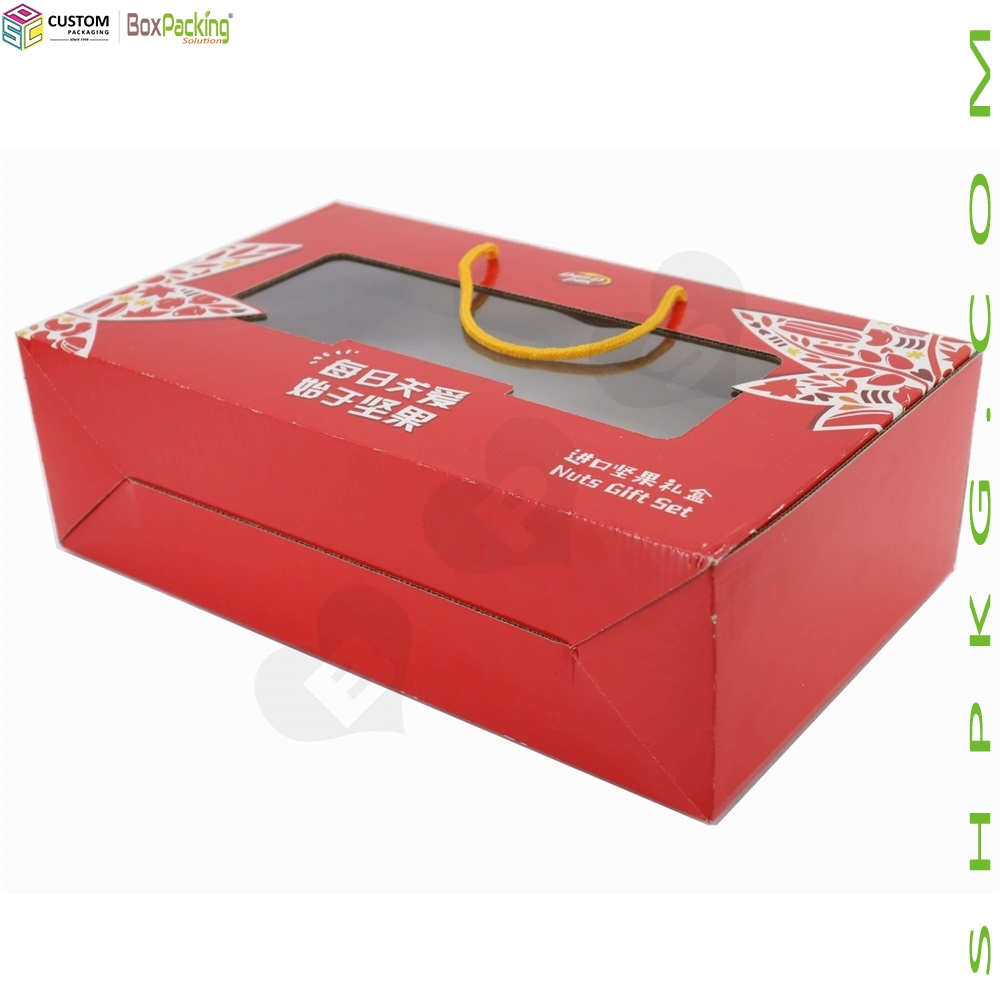 Color Printing Nuts Gift Set Box