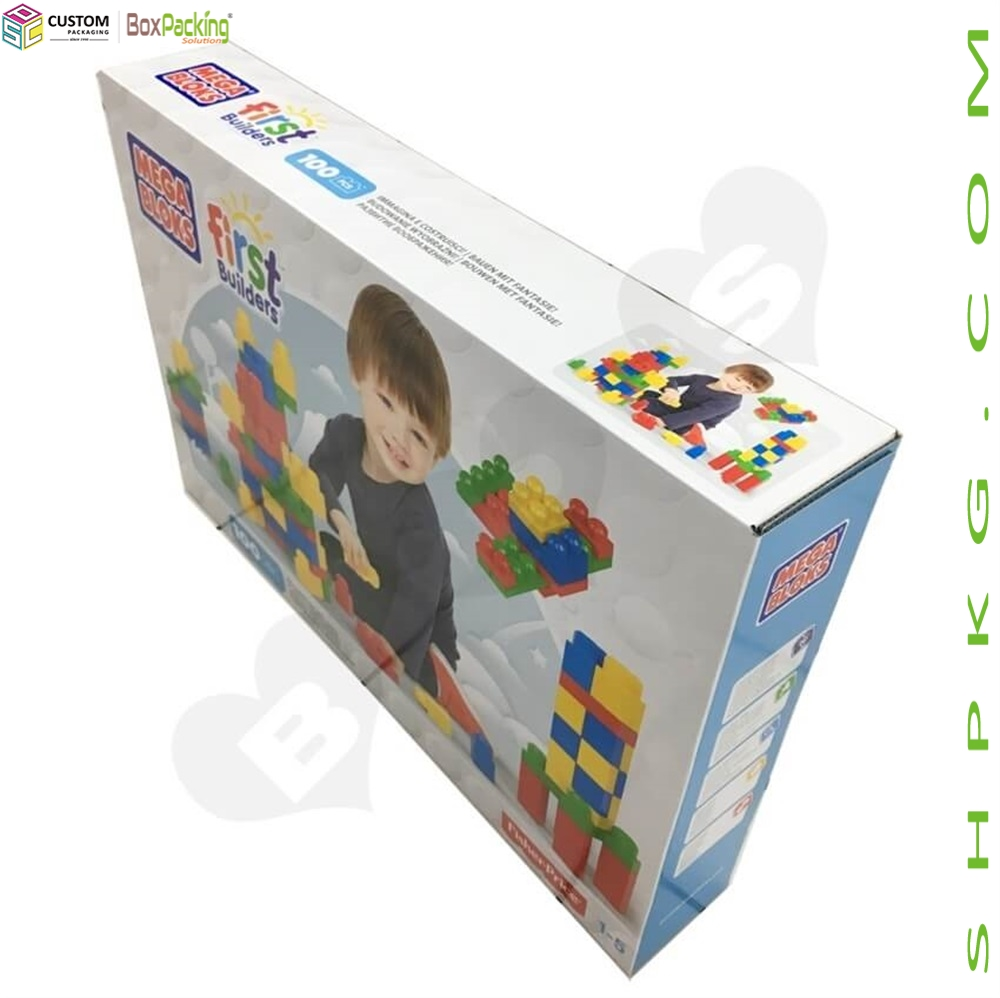 Corrugated Packaging Box For Building Blocks