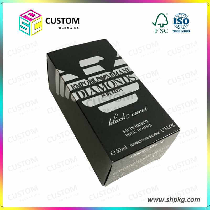 Cosmetic Paper Box with Insert