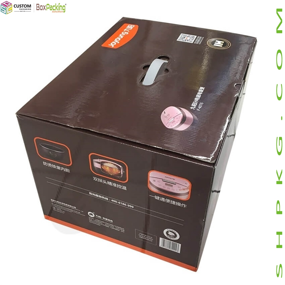 Custom Printing Rice Cooker Packaging Box