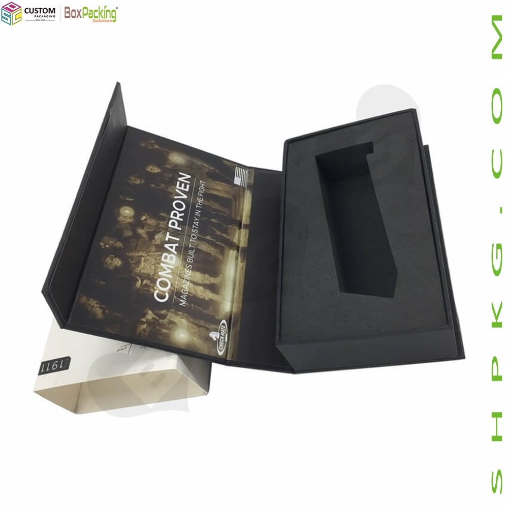 Customized Gun Clip Gift Box With Sleeve