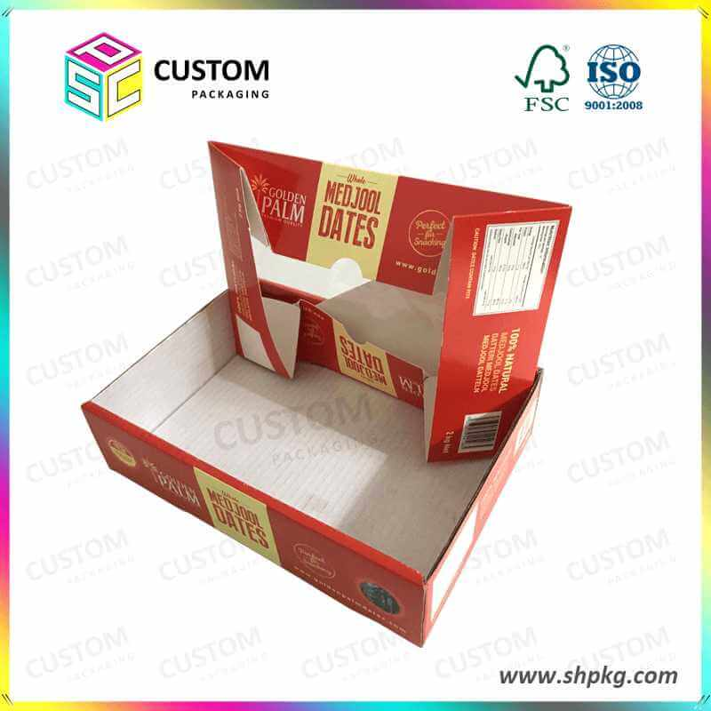 Dates Paper Box with Plastic Window 2KG