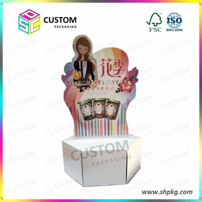 Display Stand Paper Display Box