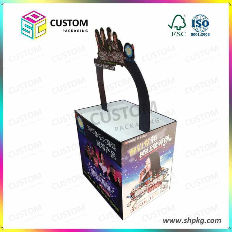 Floor Stand Display Box For Sports Products