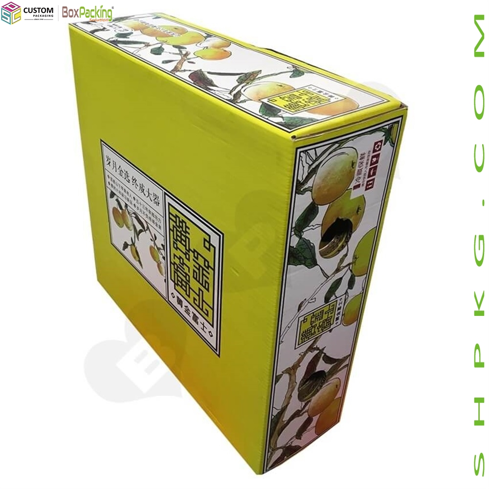 Full Color Printing Fruit Box