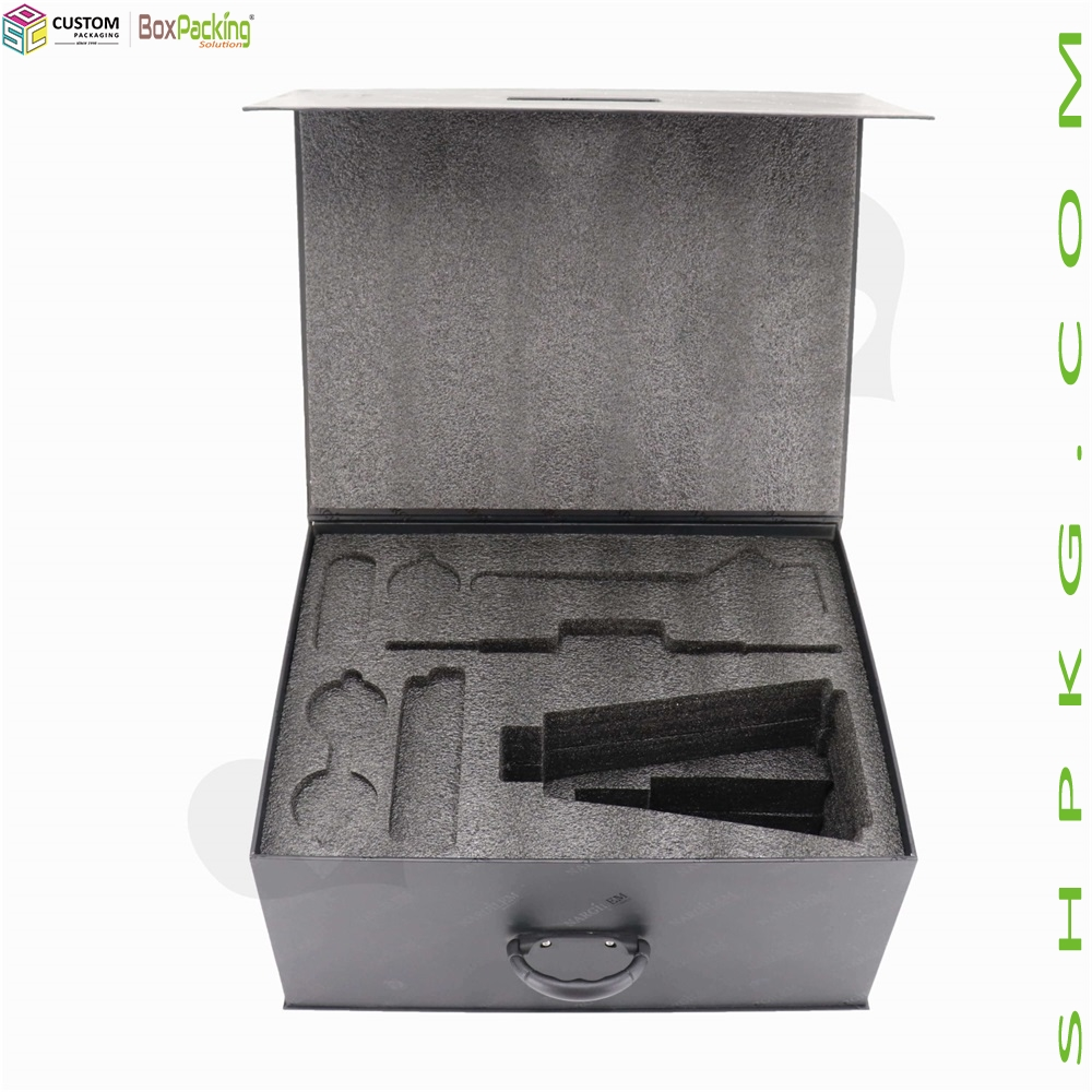 High End Hookah Gift Box with EPE Foam Insert