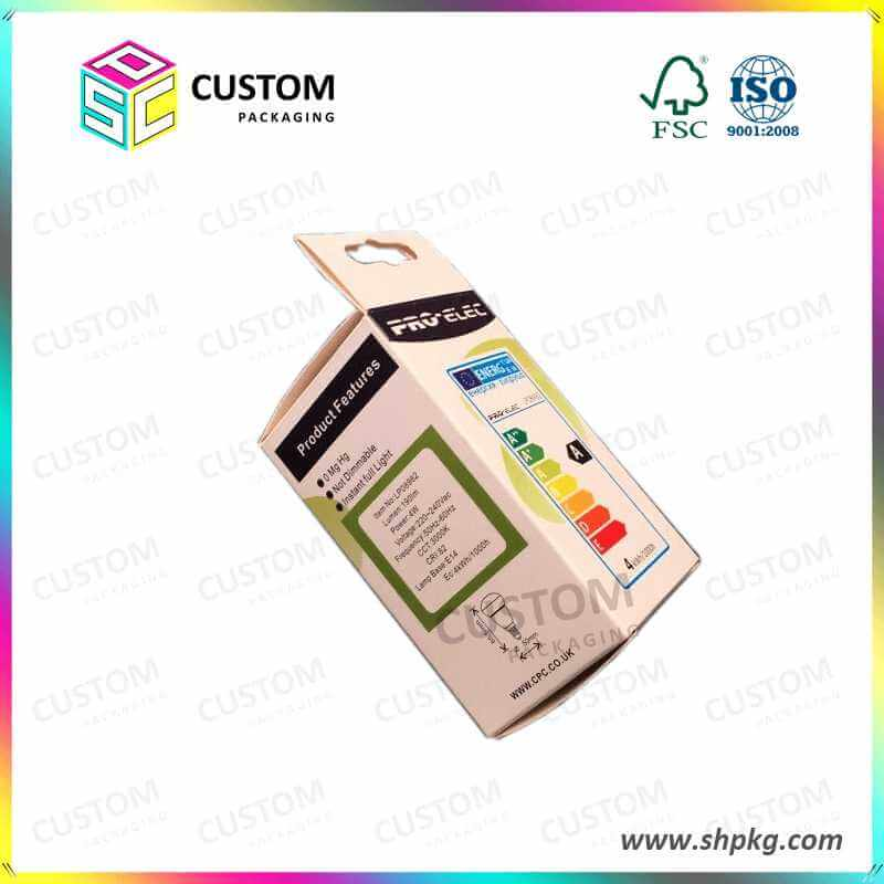 Led Tube Led Light Packing Box with Hang System