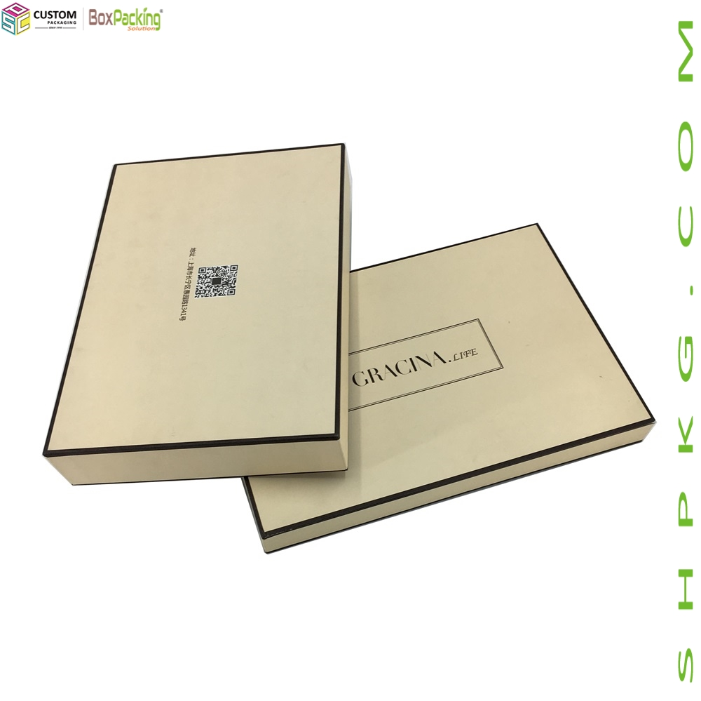 Luxury Clothing Wedding Dress Paper Packaging Box