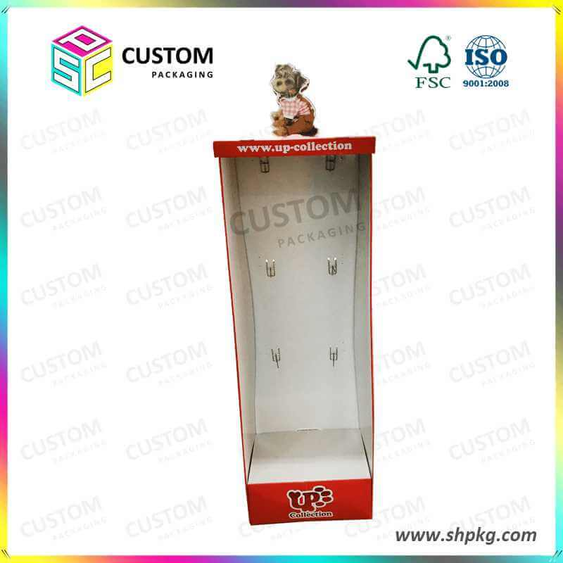 PDQ-Paper standing box display box for kid toy colletions