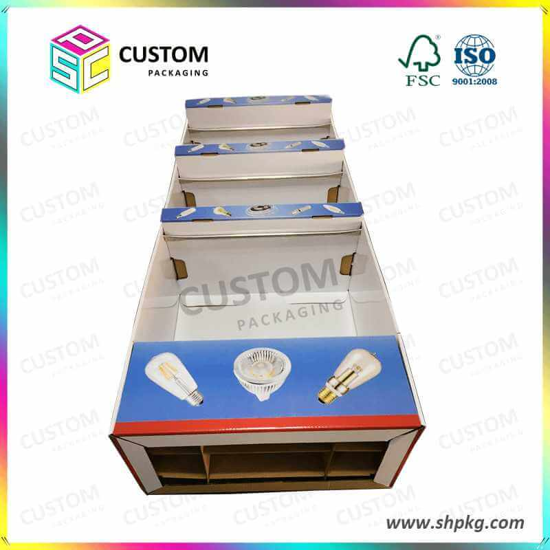 PDQ-Wholesale Fashion Customized Display Floor Standing Box for Led Light