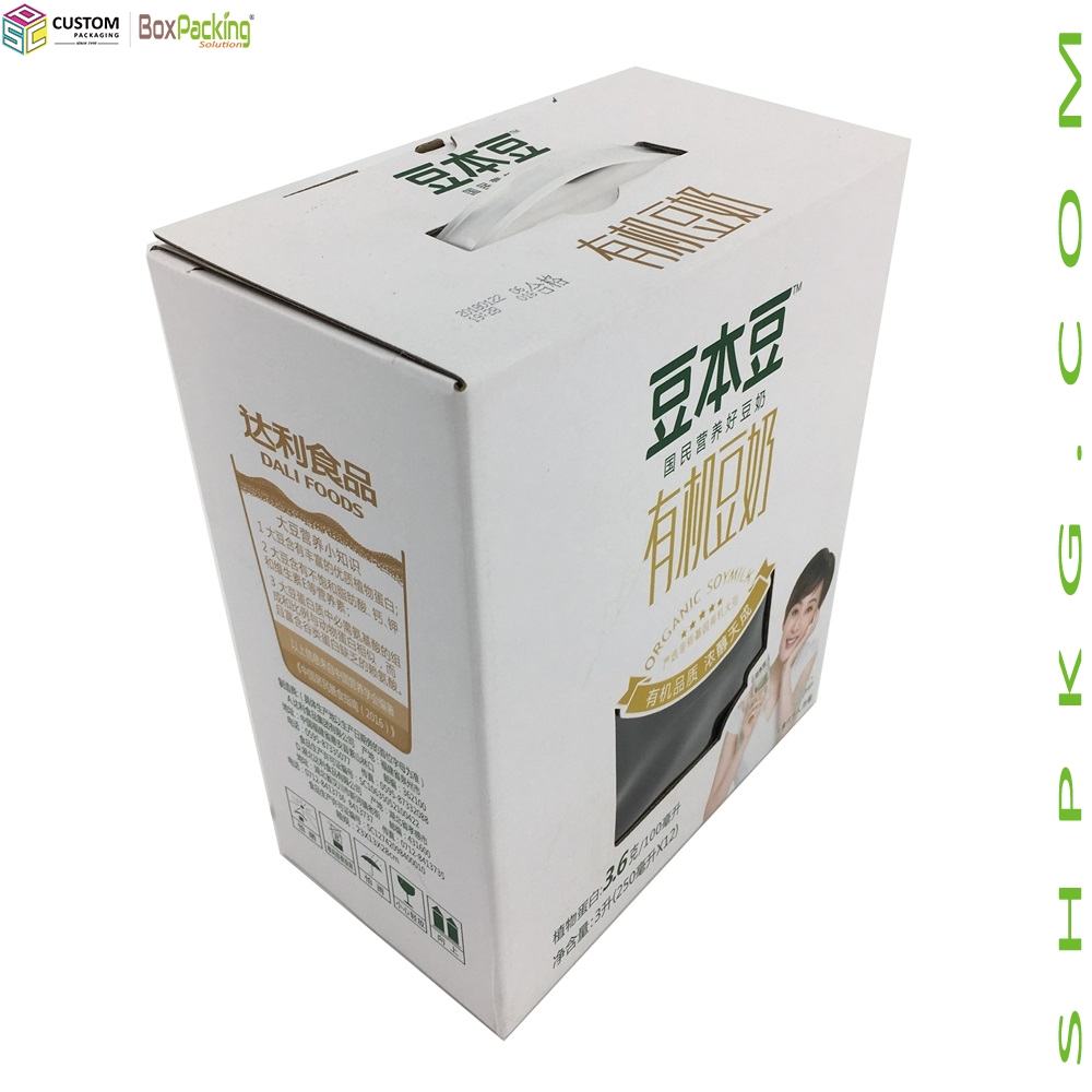 Packaging Box For Organic Soybean Milk