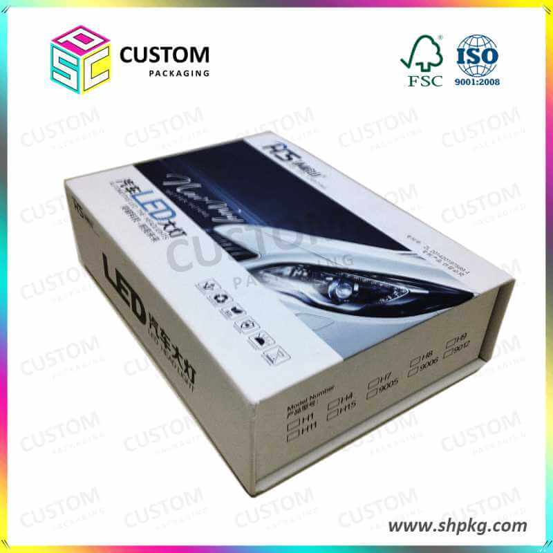 Packaging Box for Car Led Lights