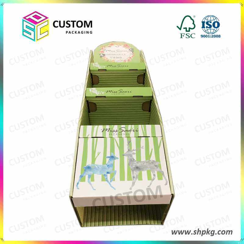 Paper Display Box for Korea Cosmetic Collections