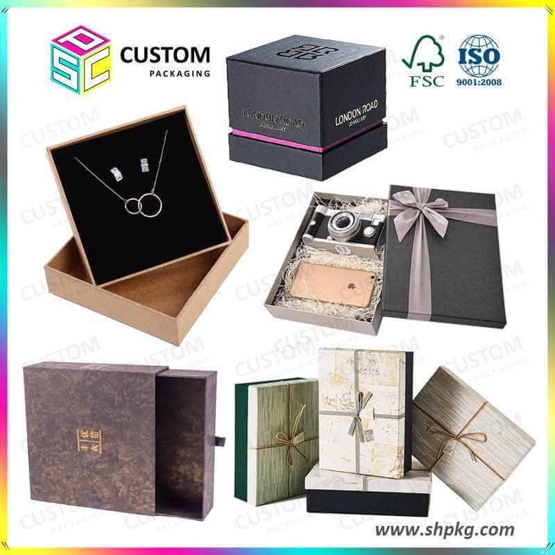 China personalized custom gift boxes wholesale supplier