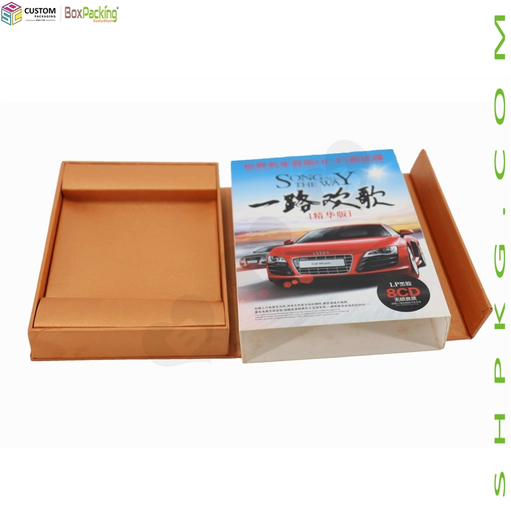 Present Printed Packaging Box For Car CD