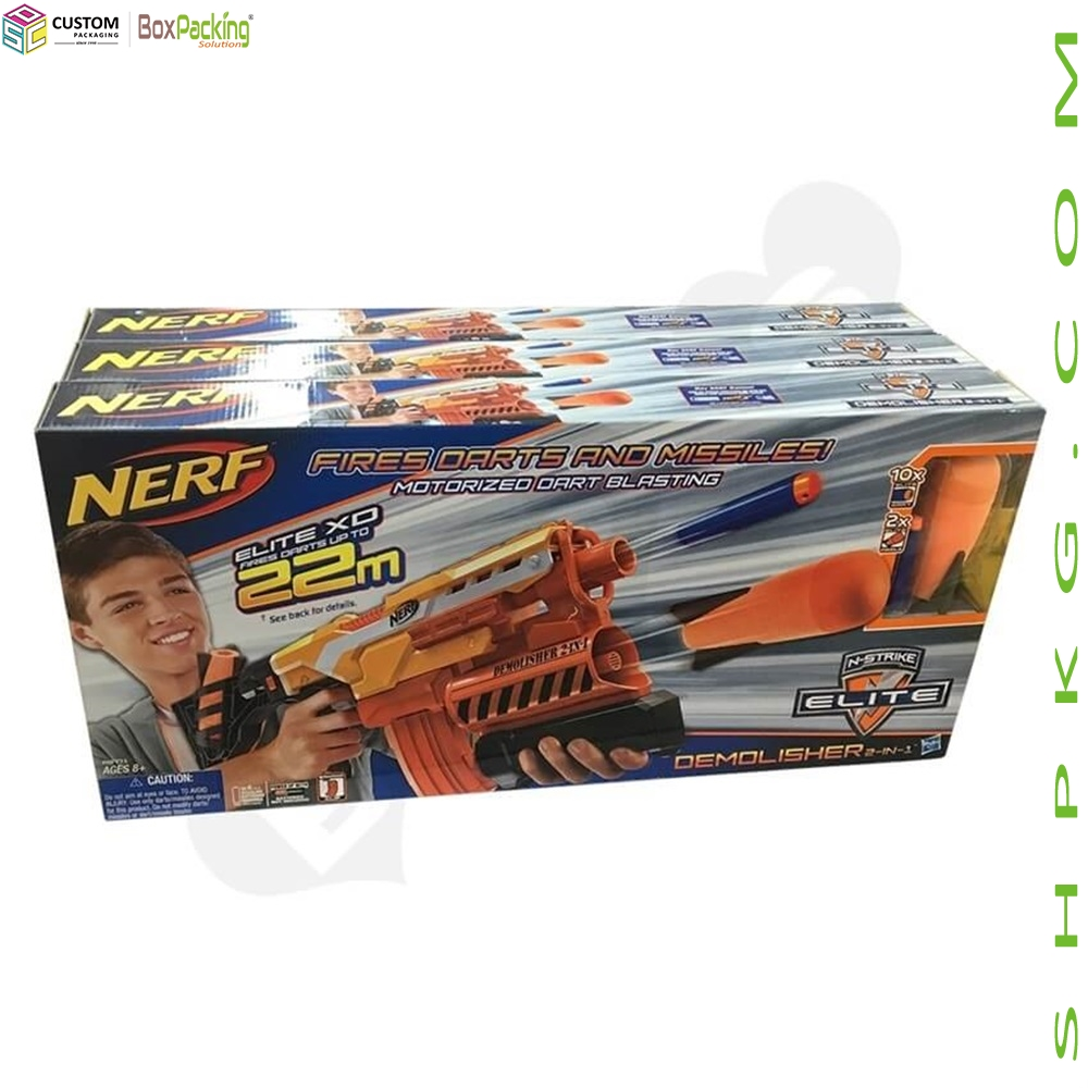 Retail Color Box For Toy Gun