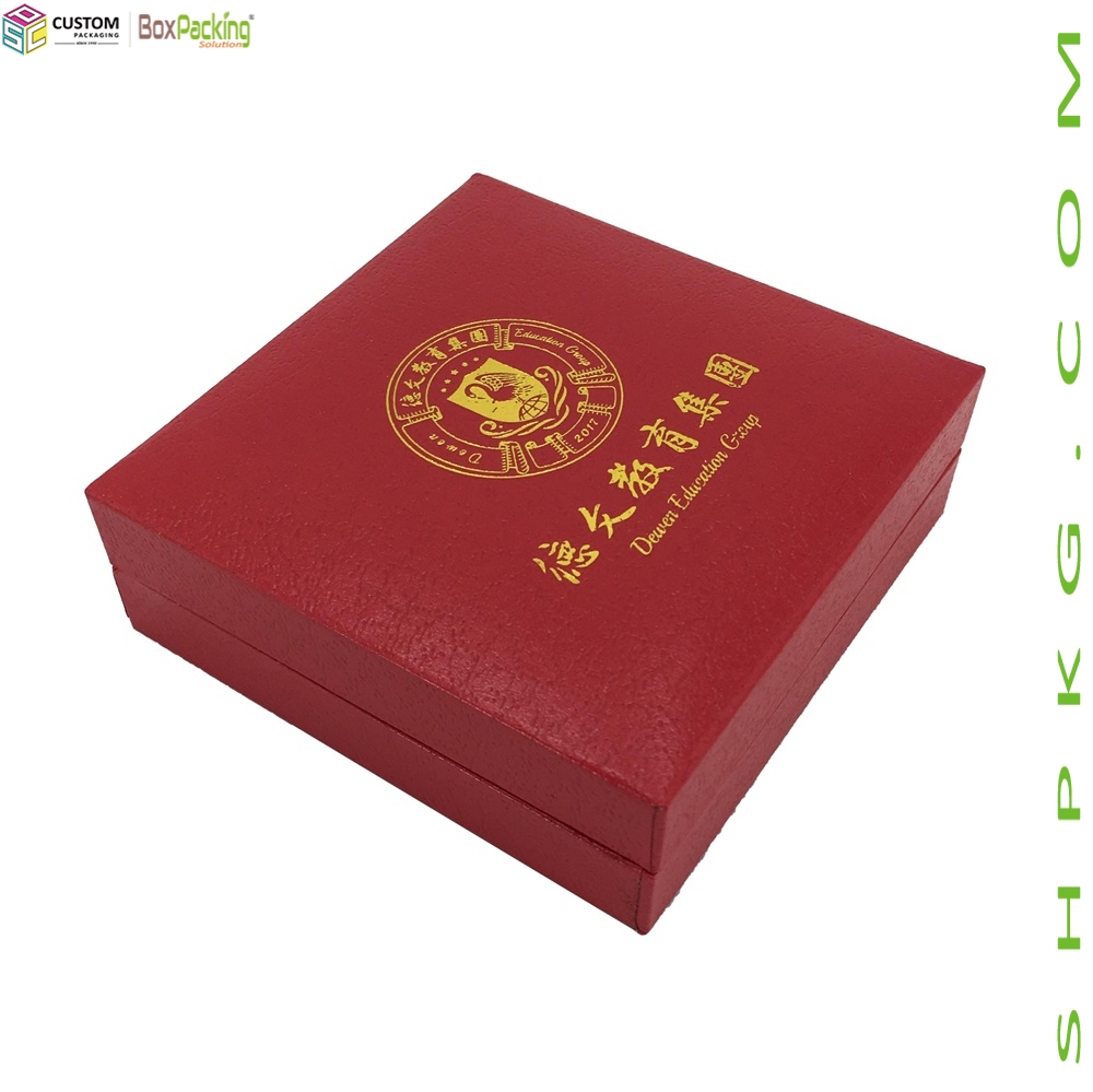 Rigid Moulded Badge Souvenir Gift Box