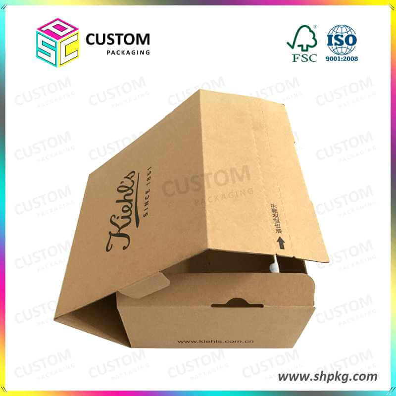 Secure Paper Shipping Box