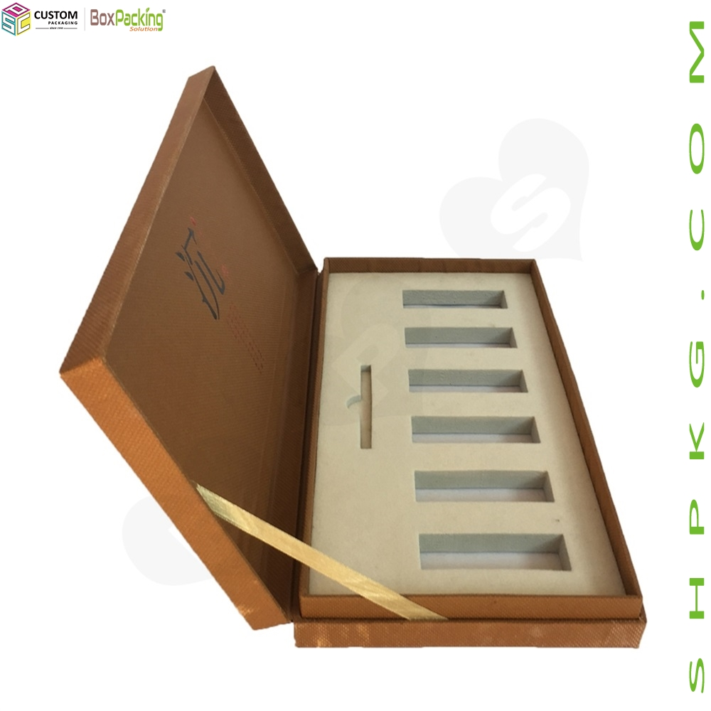 Texture Paperboard Gift Box For Agarwood
