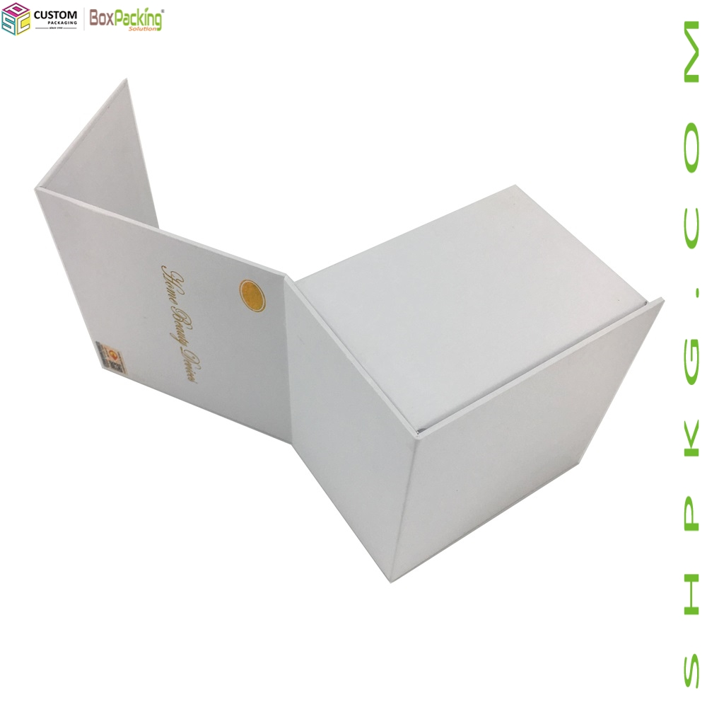 White Cardboard Gift Box For Home Beauty Device