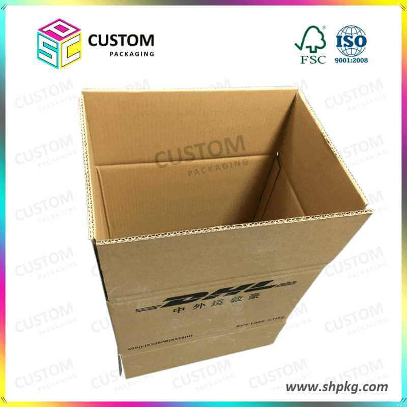 Brown Flexo Printing Paper Box