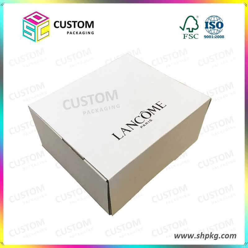 White LANCOME Paper Packing Box