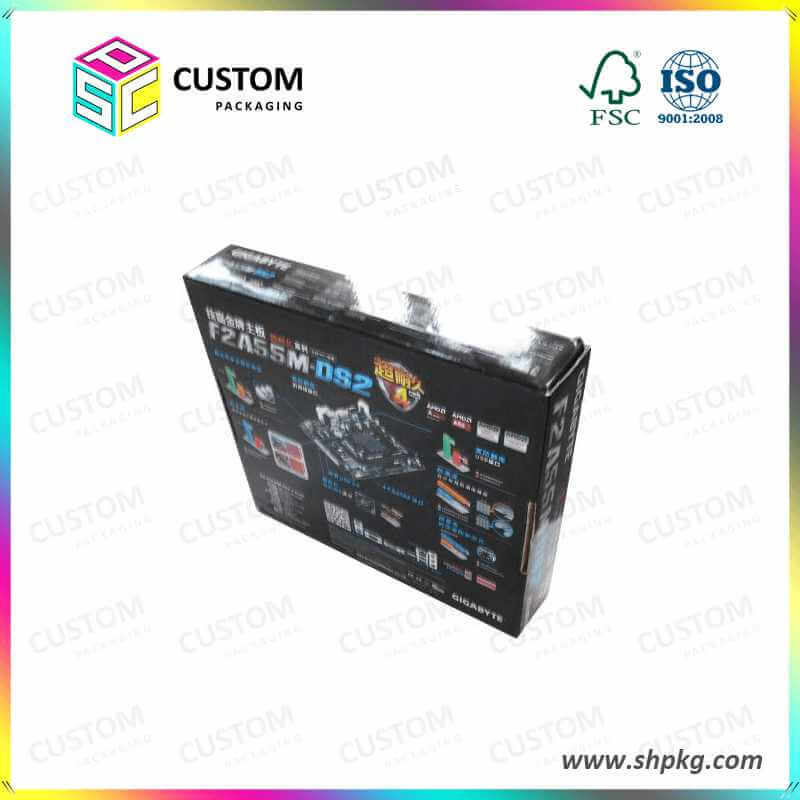 black glossy finish box