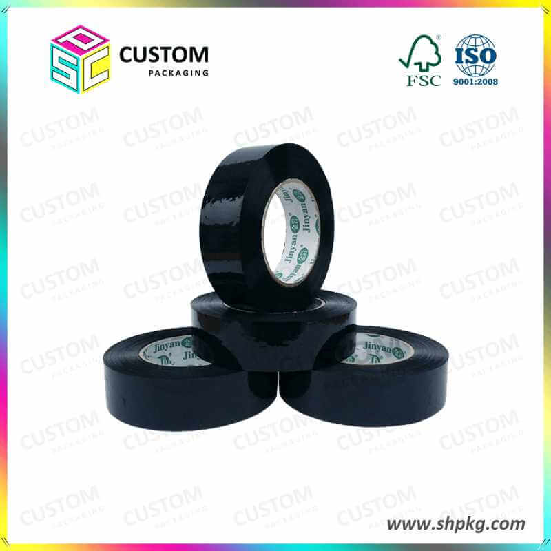 black packing tape