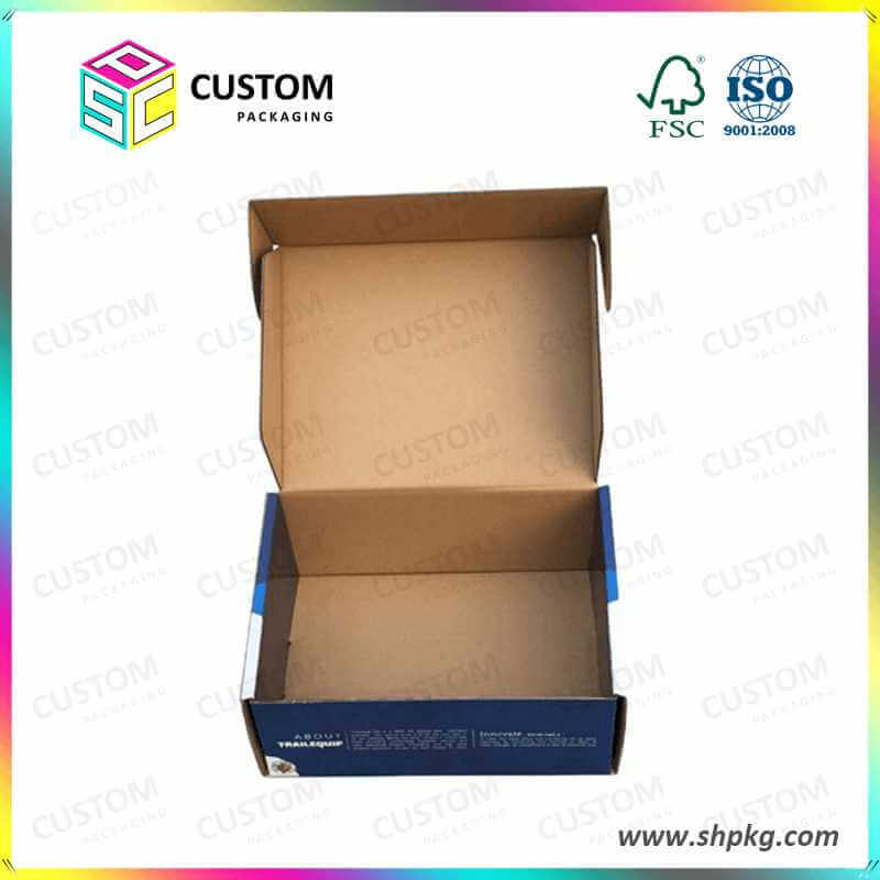 clamshell foldable paper box
