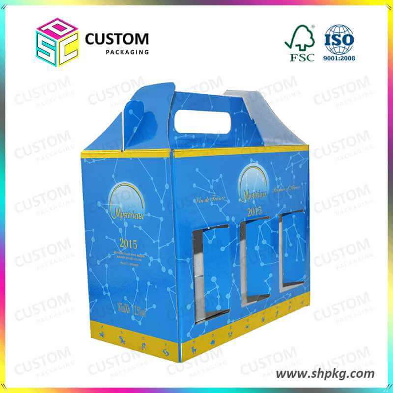 corrugated carrying carton