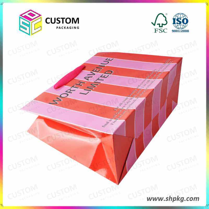 custom paper bag wholesale