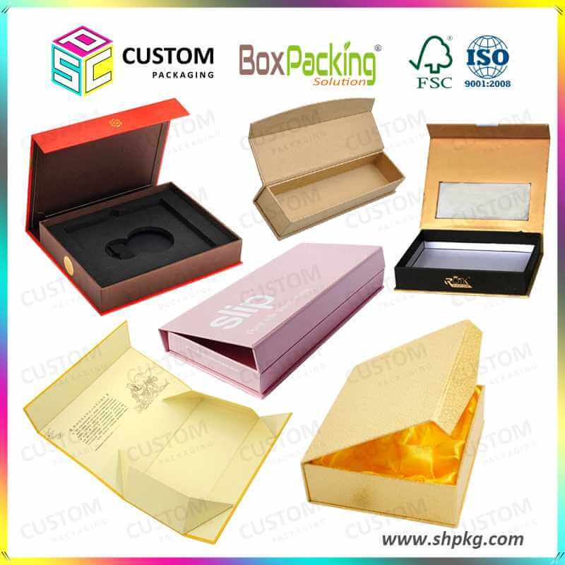 China custom rigid magnetic gift boxes wholesale supplier