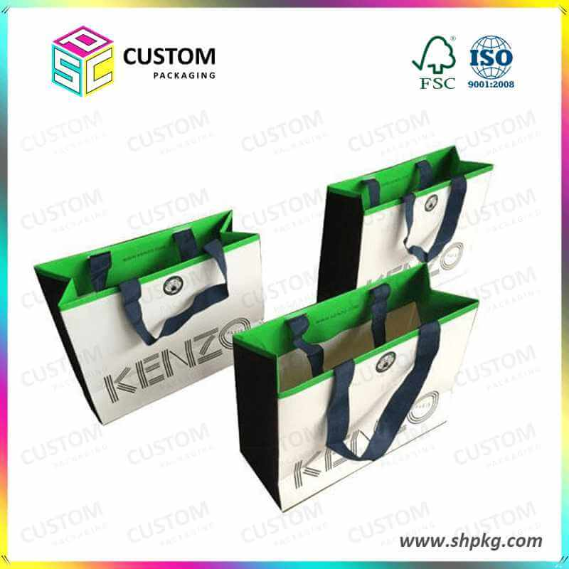 double side printed paper bag