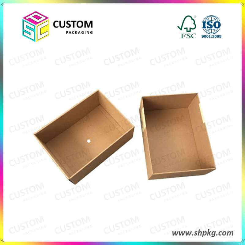 Dry fruit packaging box