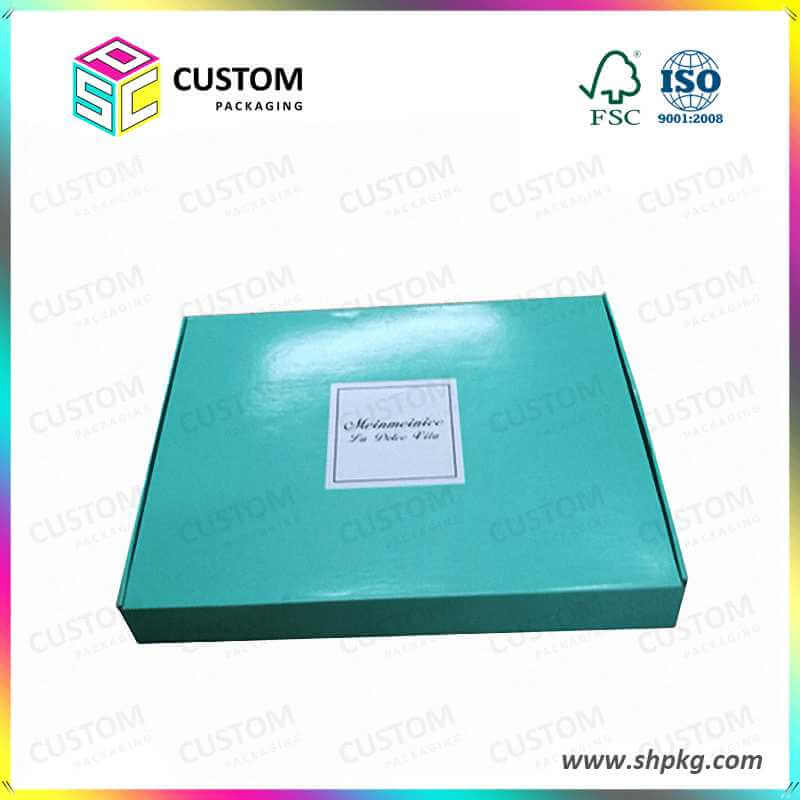 glossy tuck top folding carton-box