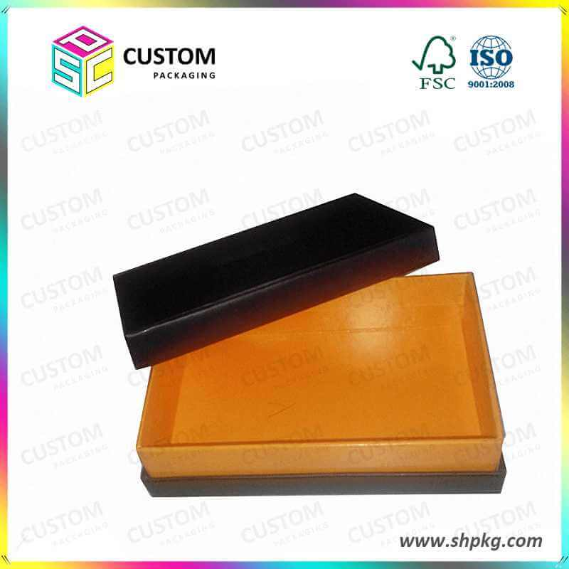 Golden lining rigid box