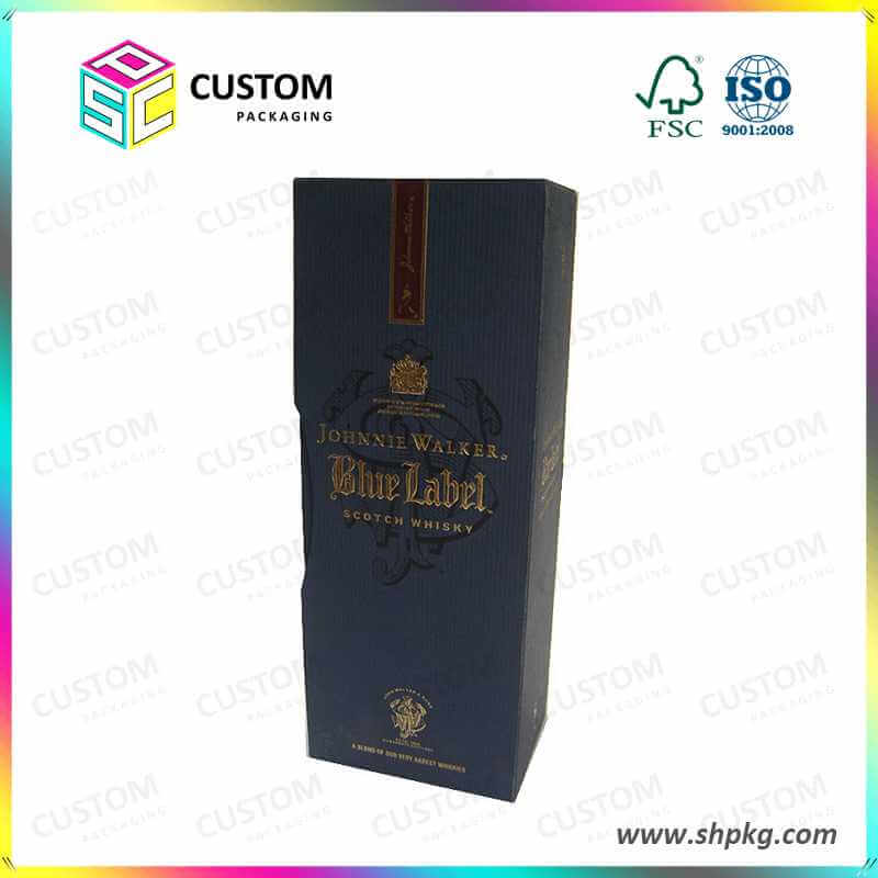 Luxury wine boxes with insert