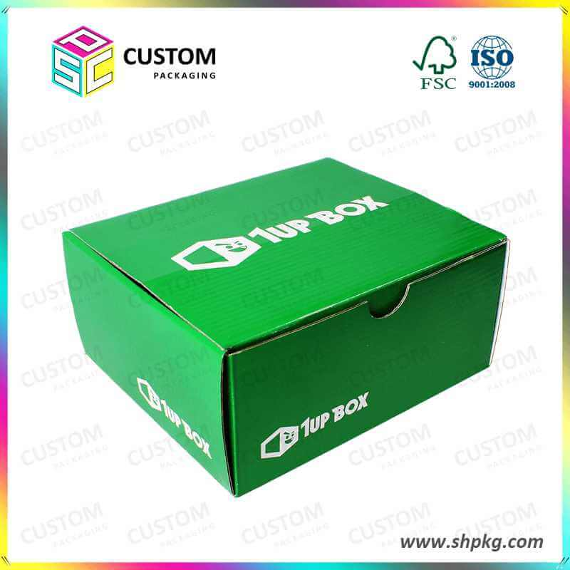 one piece offset printing box