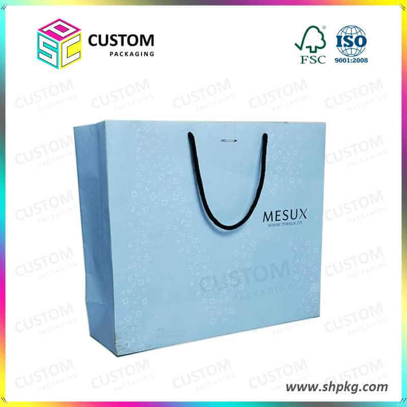 paper bag for cosmetic products