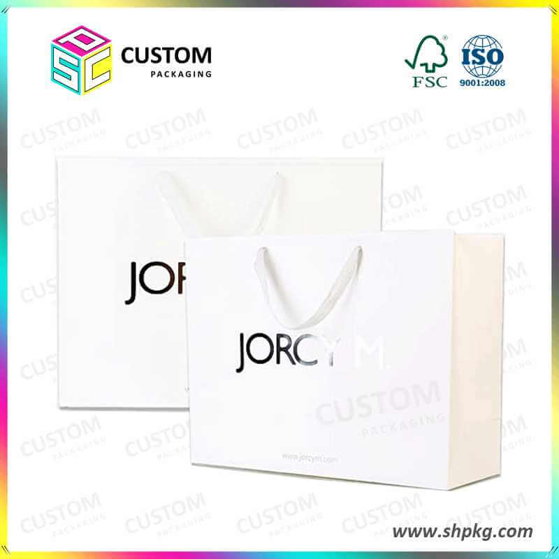 paper bag with nylon handle