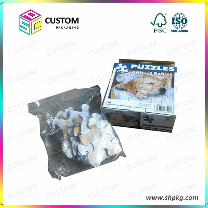 puzzles packaging box